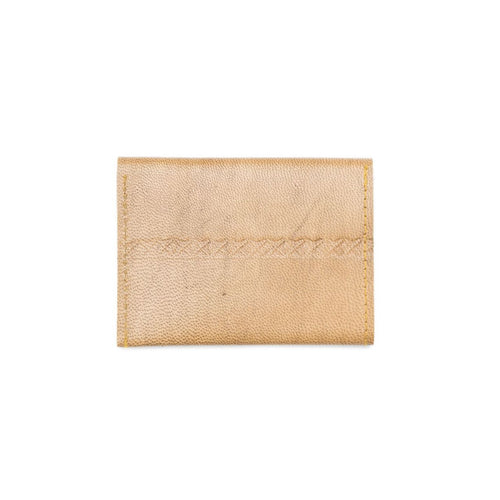 Sustainable Leather Wallet - Caramel - Ecotienda La Chiwi