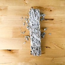 Smudge white sage incense - 8""