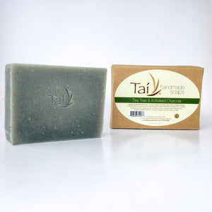 Tea Tree & Activated Charcoal - Ecotienda La Chiwi