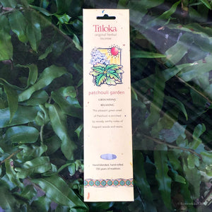 Patchouli Garden Herbal Incense - Ecotienda La Chiwi