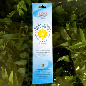 Chakra Herbal Incense - Solar Plexus