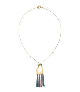 Nihira Necklace - Multi Footprint - Ecotienda La Chiwi