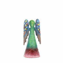 Hand Painted Metalwork Angel - small