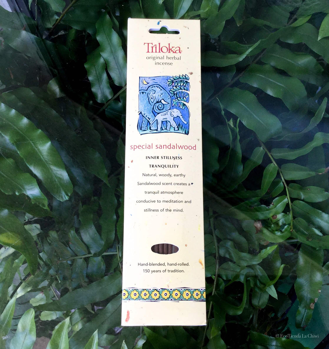 Special Sandalwood Herbal Incense - EcoTienda La Chiwi