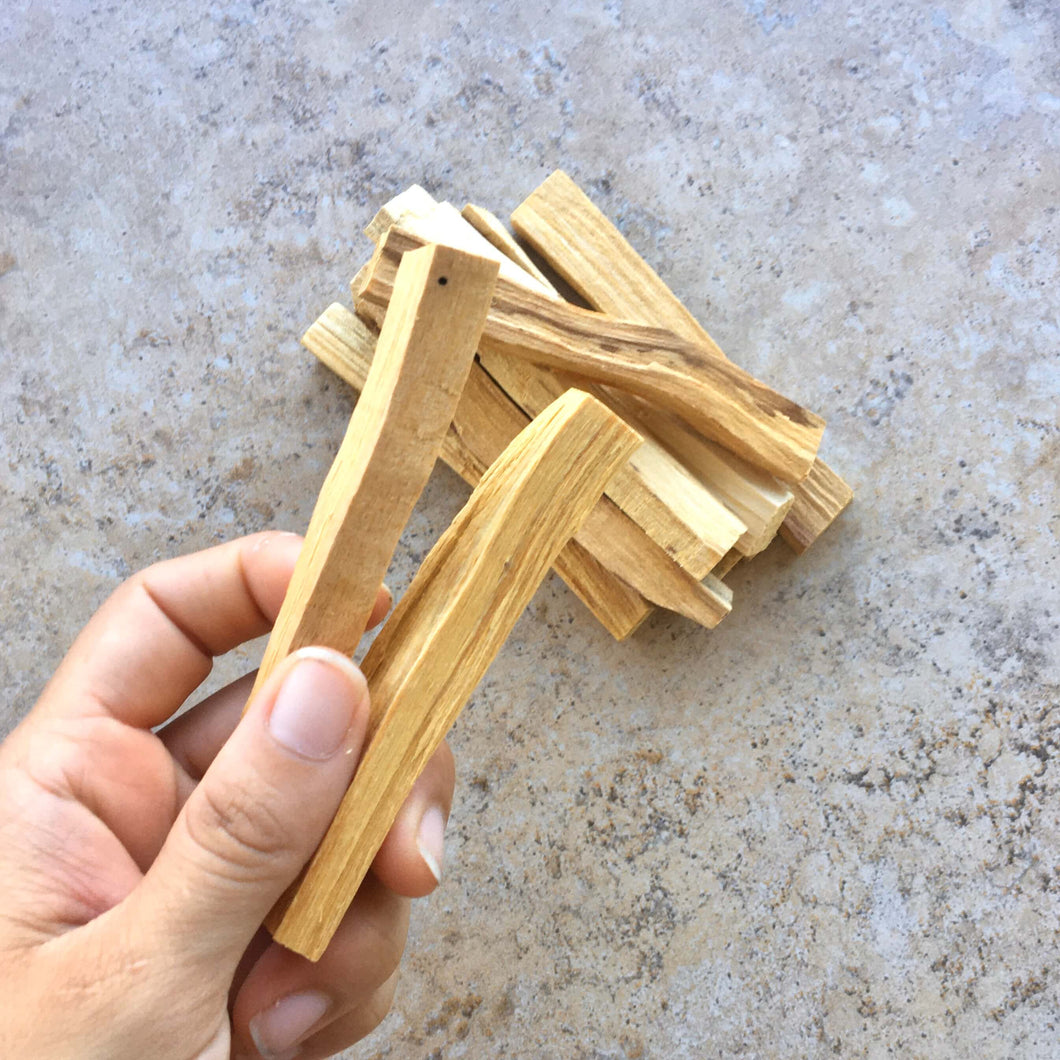 Global Shaman Palo Santo (Set of 2 small sticks)