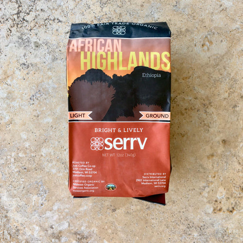 Organic Coffee - African Highlands (12oz)