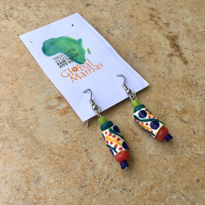 Rainbow Festival earrings - Ecotienda La Chiwi