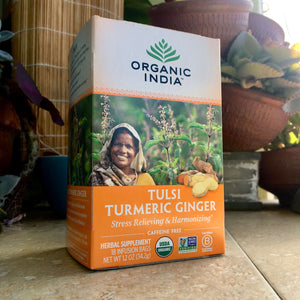 Tulsi Turmeric Ginger tea