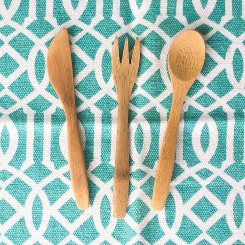 Reusable Utensils for Kids! 3 piece