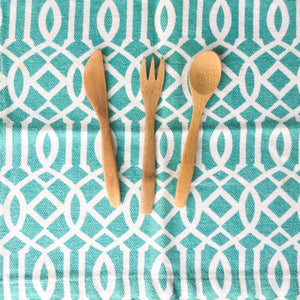 Reusable Bamboo Utensils Set for Kids! - Ecotienda La Chiwi
