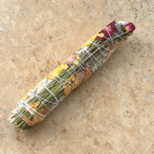 Floral + White Sage Incense bundle - Large
