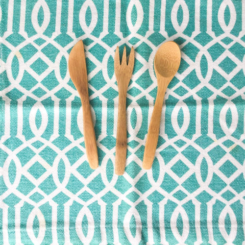 Reusable Utensils for Kids! (3+ piece set) - Ecotienda La Chiwi