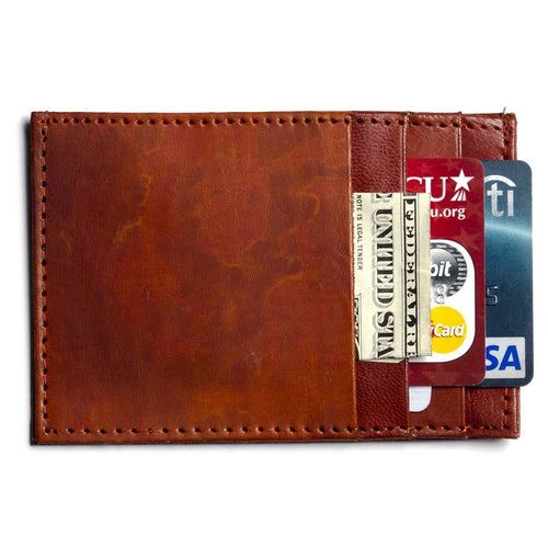 Sustainable Leather Compact Wallet - Ecotienda La Chiwi