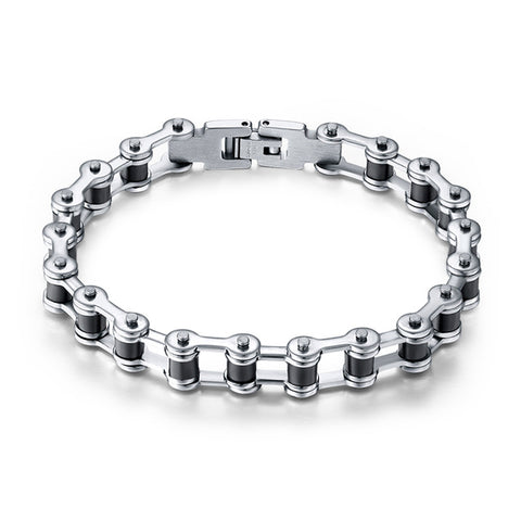 Effie Queen Top Quality Motorcycle Chain Bracelet - Motorcycle Made