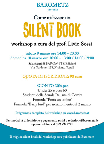 Workshop - Come realizzare un silent book