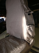Tactical high back seat covers.  TAN