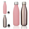 Image of Stainless Steel Wide Mouth Water Bottle - 500mL / 17fl. oz.