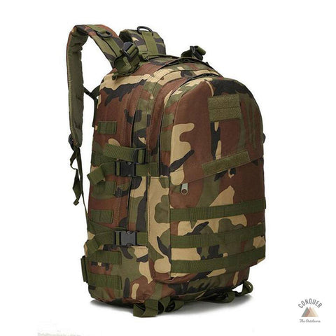 55ℓ Military Style Hiking Backpack + Free Shipping