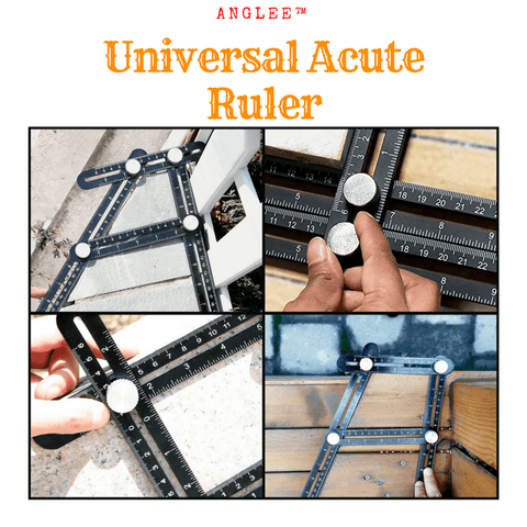 Anglee™ The Universal Do-It-All Ruler