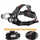 CONQUEROR™ PERFECTED HEADLAMP: BRIGHT, WATERPROOF & COMFORTABLE