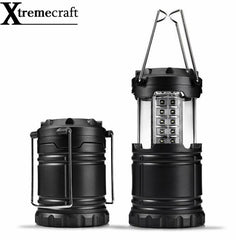 Collapsible 30 LED Lightweight Portable Camping Lantern Hanging Tent Flashlight Light Emergencies Linternas For Hiking Camping