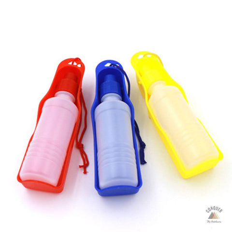 Foldable Dog Water Bottle - 250ml / 8.5fl. oz. + Free Shipping