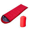 Image of JHO-Outdoor Waterproof Travel Envelope Sleeping Bag Camping Hiking Carrying Case Red