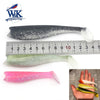 Image of W&K 2018 NEW 13 Mixed Colors Kit Soft Fishing Lure Tackle 110MM/140MM Handmade Silicone Bait Pike Bass Trout Leurre Wobbler