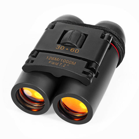 30x60 Folding Low Light Night Vision Binoculars + Free Shipping