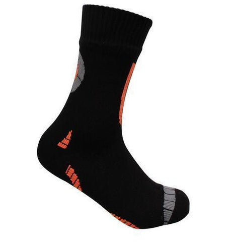 Anyoutdoor Black Gary Orange / XL Waterproof Socks