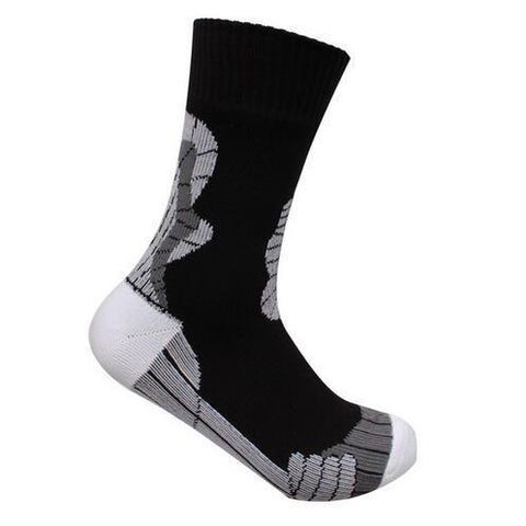 Anyoutdoor Black White / XL Waterproof Socks