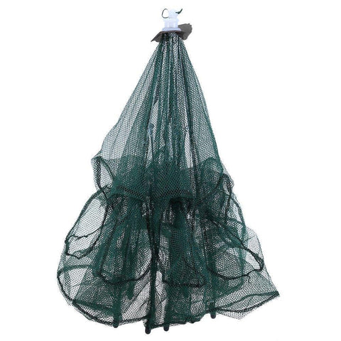 Cecilia Outdoors Automatic Crawfish Trap Cast Net (6 HOLES)