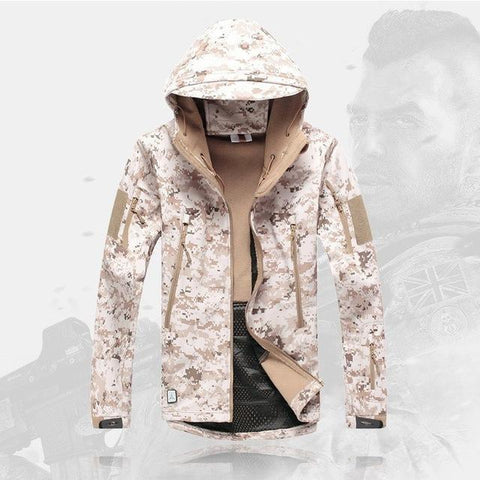 ESDY001 Store Jackets Desert Camo / S High Quality Tactical Jacket - Waterproof, Windproof & Styled