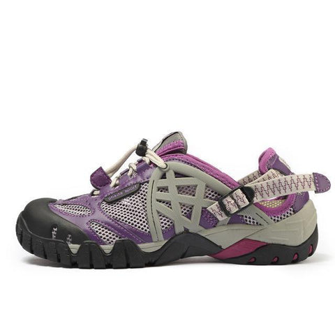 ifrich Official Store Hiking Shoes Purple / 4 DICE UNISEX WATERPROOF & BREATHABLE SHOES