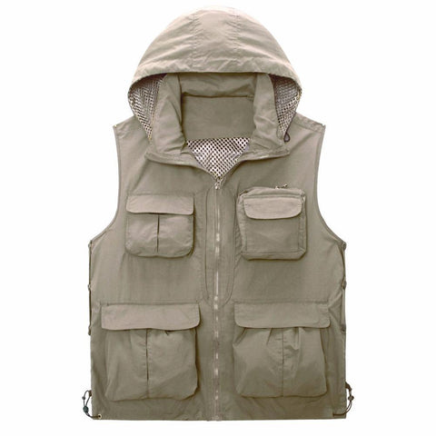 Live Beautiful HOODED FISHING VEST