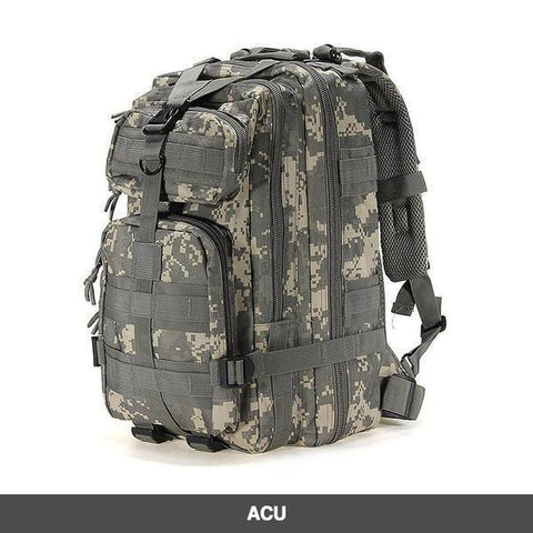 LuLu Fitness Store Climbing Bags ACU Military Style Outdoor 30L Waterproof Rucksack/Backpack