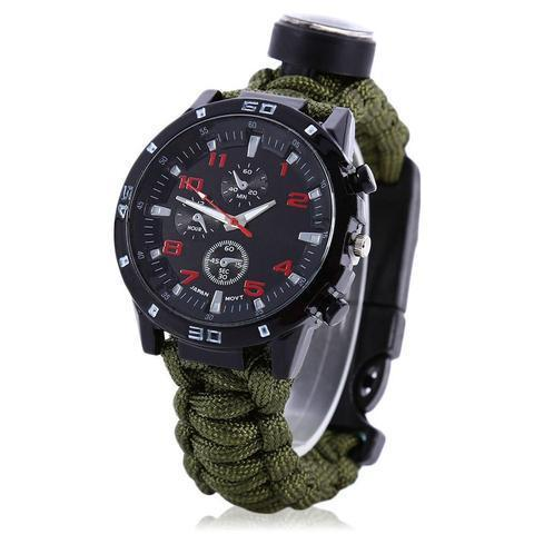 The Survivor™: Military Survivalist Watch