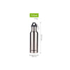 Image of Stainless Steel Wide Mouth Water Bottle - Various Sizes