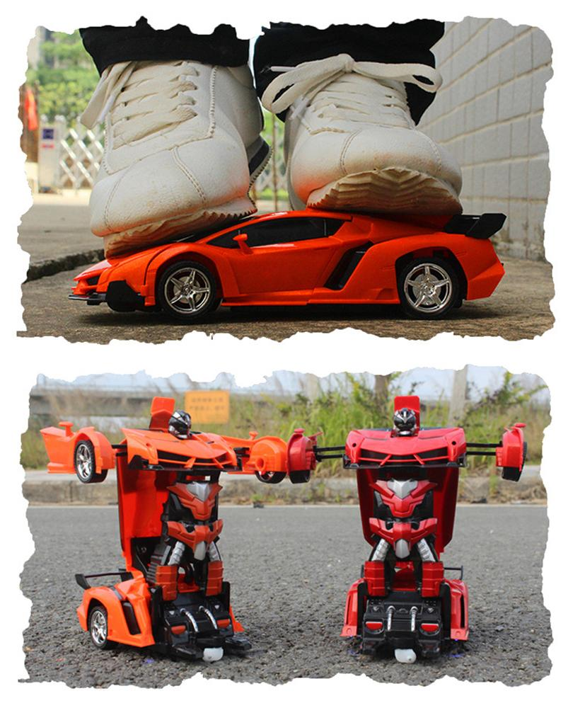 Best Remote Control Transformer Car Toy Robot with lights