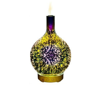 Hypnotic Galaxy Humidifier Aromatherapy Lamp
