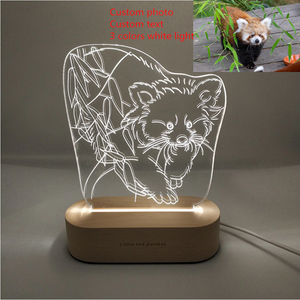 Personalized Custom 3D Lamp (Family, Pets, Baby, Wedding, Couples & More)
