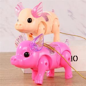 Walking Singing Electronic Piglet 3 or 5 Pack