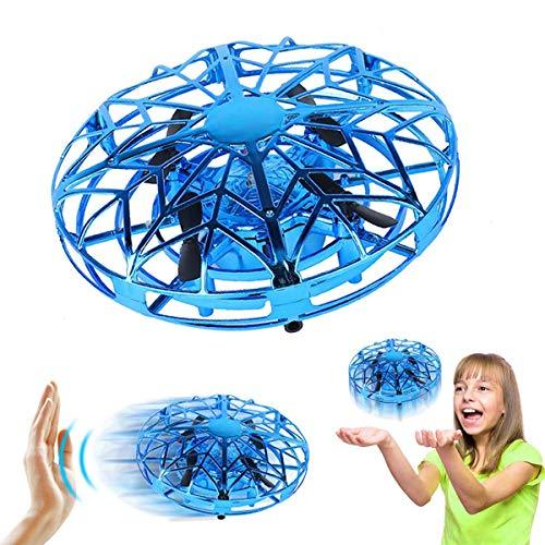 Gesture Sensing Quad-copter Induction Drone UFO (3 colors)