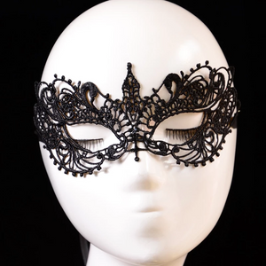 Black Lace Masquerade Mask