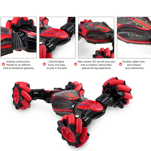 Gesture Sensing All Terrain Reversible Stunt RC Car (2 colors)