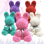 Enchanted Forever Rose Bunny Rabbit Plush (8 Colors)