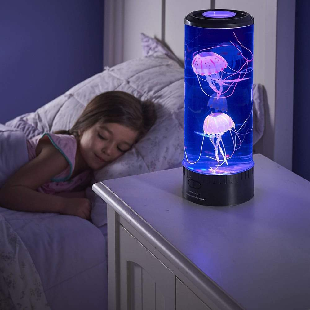 Hypnotic Artificial Jellyfish Lamp & Projector (20 Colors) XL 3 Jelly Fish