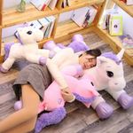 Unicorn Pillow Plush 3D Stuffed Animal (17 Variants) 25/40/60/80/110cm