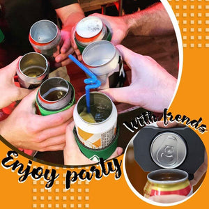 EZ Portable Soda Can Opener Bottle Maker (1, 2, 5 or 12 Pack)