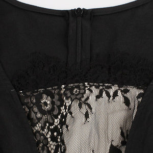 Lace Goth Occult Tea Party Dress